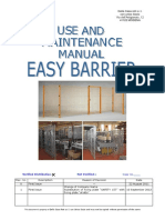 Easy Barrier_Use and Maintenance_EN