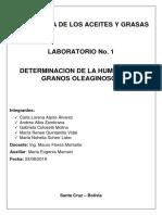 Lab. # 1 - Humedad