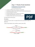 Molecular Biology 2 - Revision