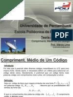 Teoria Da Informação - 12 - Comprimento Médio de Um Código