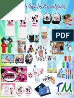 Catalogo Artículos Personalizados Tm Publicidad 2018