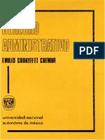 Derecho Administrativo_chuayffet Chemor, e.