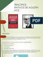 Los Seis Principios Administrativos de Agustín Reyes Ponce