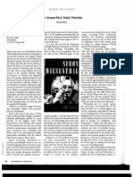 Book Review - Simon Wiesenthal the Life and Legends