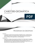 1_apresentação de Geomática