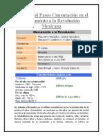 Descubre El Paseo Cimentación en El Monumento a La Revolución Mexicana 4-09-18