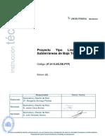 PROYECTO TIPO LINES ELECTRICAS DE BAJA TENSION GAS NATURAL FENOSA NATURGY.pdf