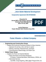 5262 Foster Wheeler Oxy-combustion Materials Robertson) Mar