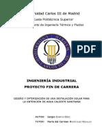 Diseño e instalación sistema solar