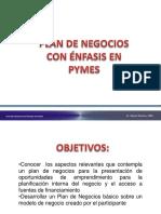 Plan de Negocios Con Enfasis en Pymes