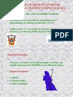 diapositivas de Tanatologia