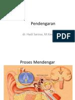 1.1. Fisiologi Pendengaran (Dr. Hadi)