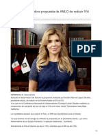 29-08-2018-Aplaude Gobernadora Propuesta de AMLO de Reducir IVA en La Frontera-ElImparcial