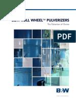 E1013143 BW Roll Wheel Pulverizer