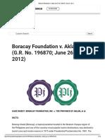 -2) GR 196870, Boracay