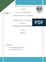 Practica 2  análisis de circuitos electricos