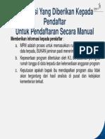 6. Lembar Informasi kepada pendaftar.pptx