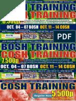 Bosh Cosh Ads October