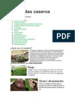 Pesticidas caseros