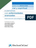 Manual Para La Atencion Psicosocial y Espiritual en Personas Avanzada Edad