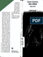 Greenberg Arte y Cultura Ensayos Críticos Pp 122-162