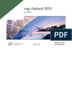 2018 IEA Energy Outlook
