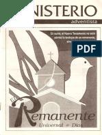 Remanente Universal  Apostasía Adventista