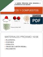 Elementos y Compuestos quimicos