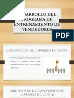 Desarrollo Del Programa de Entrenamiento de Vendedores