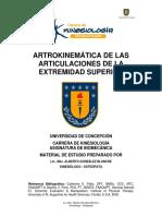 Artokinemática de Las Articulaciones de La Extemidad Superior - Alberto Gonzalez (UDEC)