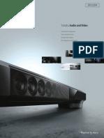 Yamaha Audio Video 2013 Fall Catalogue