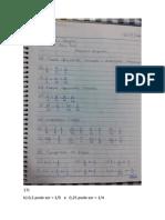 Exercicios de Matemática