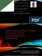 Fuerza Magnética Sobre Un Conductor FISICA