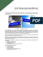 7. Steps Troubleshooting Method
