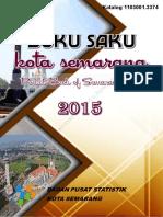 Buku Saku Kota Semarang 2015