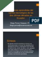 Microsoft PowerPoint - Lecciones Aprendidas Del Cambio Tecnológico de Las Dos