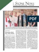 October 2007 Stone Newsletter, Stone Church of Willow Glen