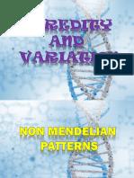 Non Mendelian Patterns