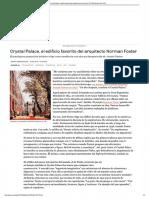 Crystal Palace, El Edificio favorito de Norman Foster