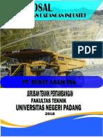 Proposal PLI Ba Bukit Asam