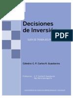 Guía Práctica  2018 (Decisiones de inversión)