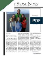 January 2008 Stone Newsletter, Stone Church of Willow Glen