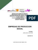 Modelo de Produccion Endogeno y Las EPS