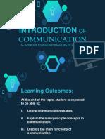 2018 - Note 1 - Pengantar Komunikasi