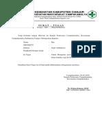 Surat Tugas Sopir Ambulan