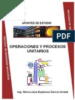 Operaciones y Procesos Unitarios PDF