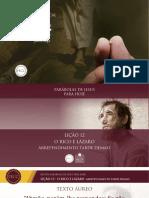 Slides - PARÁBOLAS DE JESUS - Lição 12.pdf