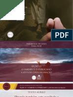 Slides - PARÁBOLAS DE JESUS - Lição 13.pdf