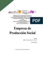 Empresa de Producción Social - Johandrys