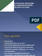 Etat de Situation Financière Etude Comparative Entre Les Ifrs Et Le Cgnc